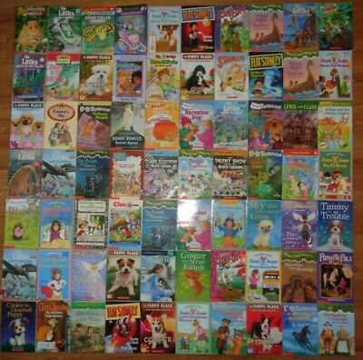 Lot of 10 Children's Chapter Books Unsorted A-Z Mystery Stanley Jones Scooby-Doo