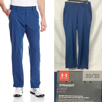 8206c407f87 Under Armour Match Play Vented Golf Pants Men's 30x32 Academy Blue 1259430  408