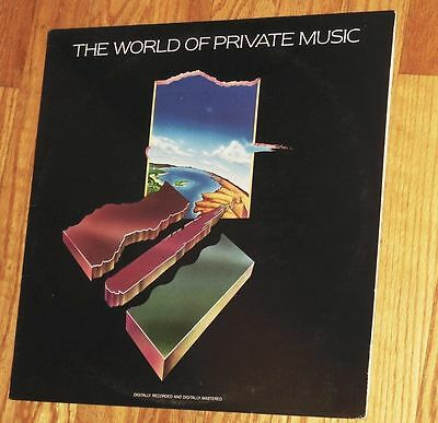 VINYL LP The World Of Private Music - Various Artists
