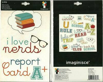 Imaginisce 12pc PERFECT VACATION Die Cuts Snap Shots Luggage 400554