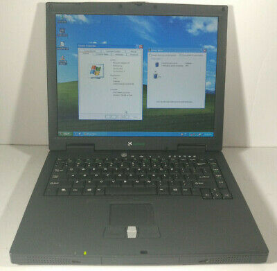 "Gateway Solo 1400 Celeron 850Mhz /512MB RAM/80GB HDD Win XP Pro 3.5"" Floppy"