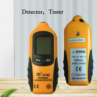HT-M2 Digital LCD Radiometer Tester Microwave Leakage Detector Geiger Counter