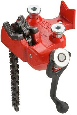 RIDGID 1/8 in. to 4 in. BC410P Top-Screw Bench Chain Vise