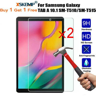 2Pcs Tempered Glass Screen Protector For Samsung Galaxy Tab A 7.0/8.0/10.1 Inch