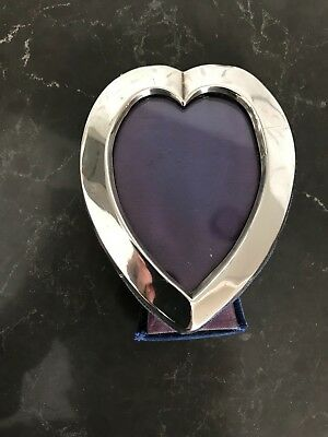 Antique Hallmarked Sterling Silver Photo Frame -London 1908