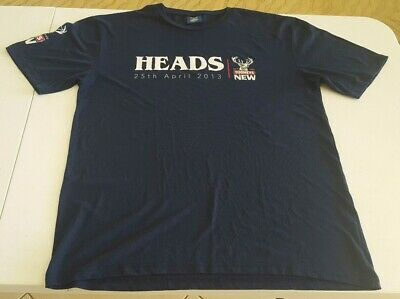 Tooheys New Heads & Tail T-Shirt 25 April 2013 Genuine Merchandise Size 2XL