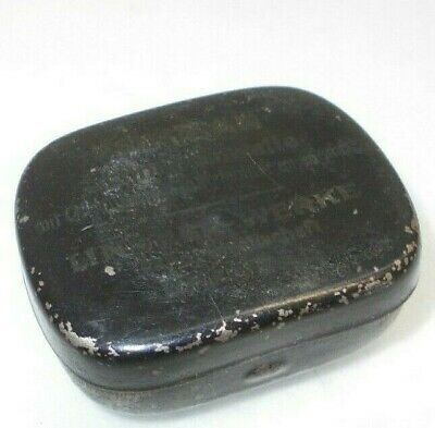 Vintage tin box antique old tin metal Gramophone needle phonograph
