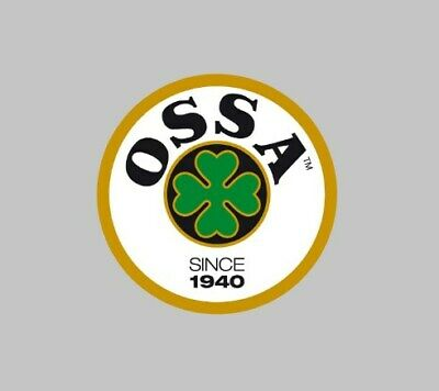 Ossa Motorcycle Biker Stickers bike trails rally race helmet tank fairing