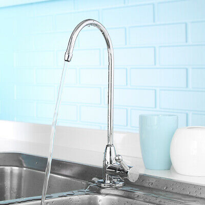 """Reverse Osmosis RO Undersink Drinking Water Filter Tap Faucet 1/4"""" Chrome Mixer"""