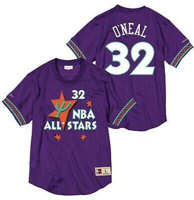 Shaquille O'Neal 1995 NBA All Star Mitchell & Ness pour Homme Maille Col Rond