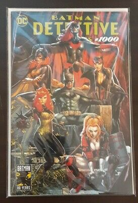 Detective Comics 1000 Unknown Comics Exclusive Jay Anacleto Trade Dress Variant