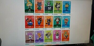 Animal Crossing Amiibo Cards Series 1 - #001-100 - next pages for series 2-3-4