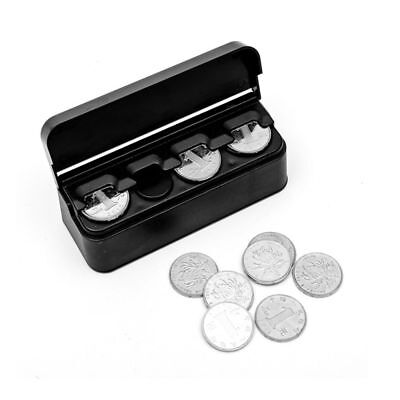 Car Coin Case Loose Change Storage Box Money Wallet Piggy Bank Collecting Box