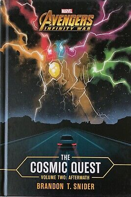 Marvel Book:  The Avengers, Infinity War, The Cosmic Quest, Vol 2. Aftermath