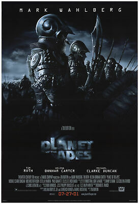 Planet of the Apes 2001 27x40 Orig Movie Poster FFF-74367 Rolled Fine Tim Roth