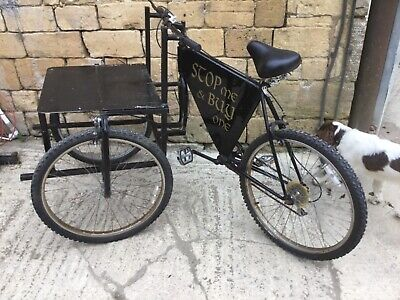 Tricycle suitable for ice cream / jacket potato selling