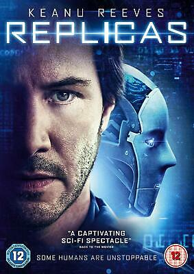 Replicas  with  Keanu Reeves New (DVD  2019)