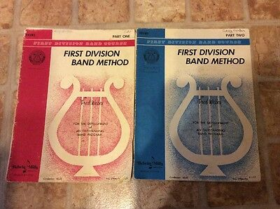 First Division Band Course Band Method Part On And Two Fred Weber Drums