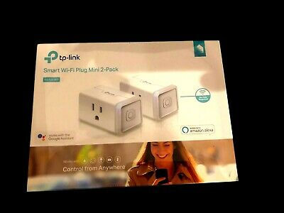 Smart Wi-Fi Plug Mini by TP-Link (2-Pack) - Control your Devices from