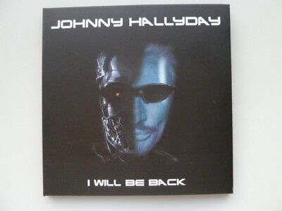 """Double CD """" I will be back"""": concert Johnny HALLYDAY Nîmes 2016"""