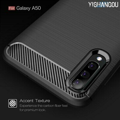 Luxury Carbon Fiber Ultra Slim Soft Silicon Phone Case Cover For Samsung Galaxy