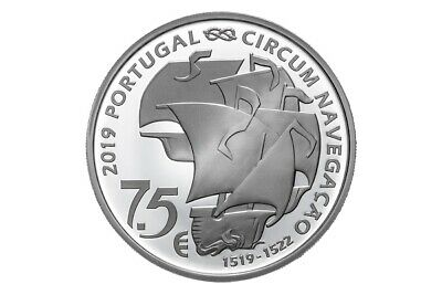 7,50 euro Portugal 2019 argent BE – 500 ans Magellan