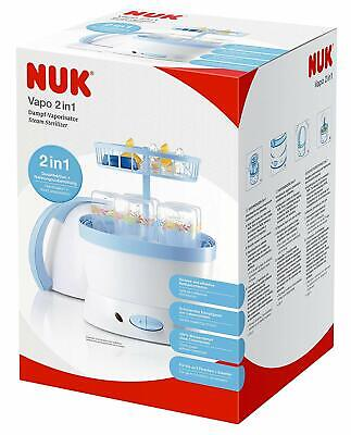 NUK 2 in 1 Steriliser and Food Preparation-RRP £64.99