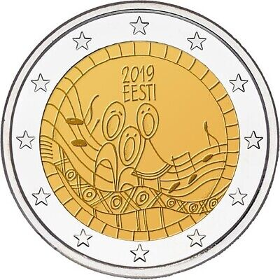 2 euro commemorative coin Estonia 2019 - Song festival