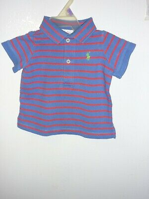 Infant Boy Ralph Lauren Shirt Size: 9 Months   GUC
