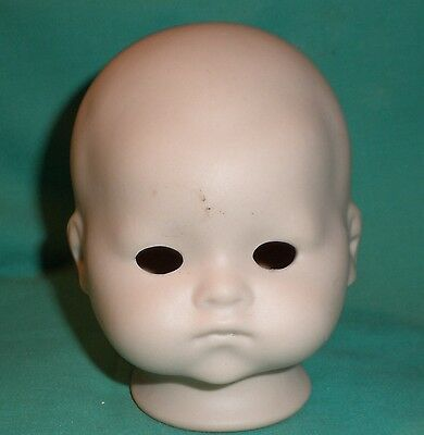 bisque head antique 341 A. Marseille repro, to tie in /unpainted