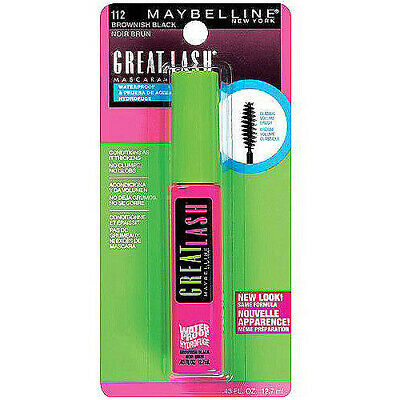 Maybelline Great Lash Waterproof Mascara - 112 Brownish Black
