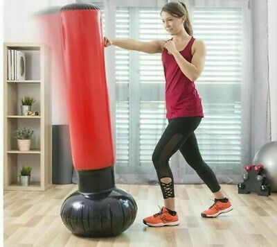 Inflatable Punch For Martial Arts or Stress Global Gizmos Punching Bag Tower