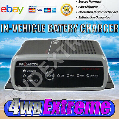 Latest Version 5 Projecta Dual Battery In Vehicle Charger Booster Dc To Dc Idc25