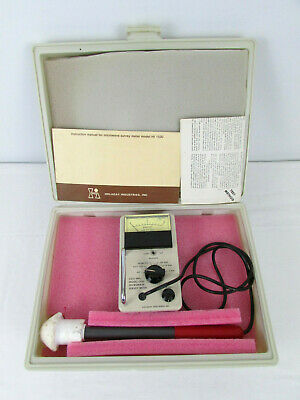 Holaday Model HI-1500 Microwave Survey Meter with Probe