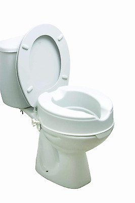 Drive 2 Inch Raised Toilet Seat without Lid
