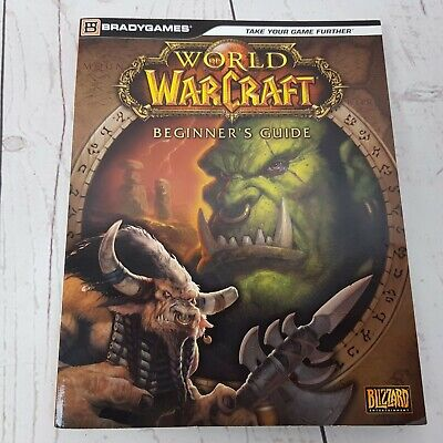 World of Warcraft Beginner's Guide Strategy Book Brady Games Paperback 2011