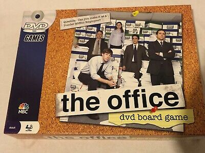 The Office DVD Board Game Complete 2008 Pressman NBC Dunder Mifflin