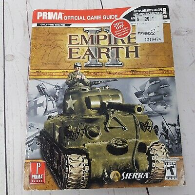 Empire Earth II Prima Official Game Guide Strategy Book Paperback 2005
