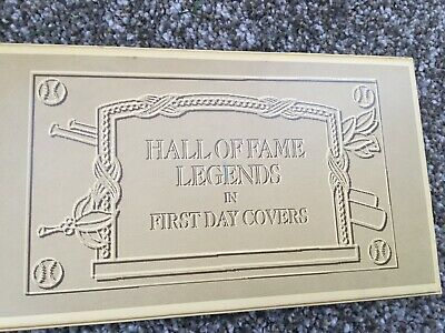 Hall of Fame Legends in First Day Covers Babe Ruth Lou Gehrig Ty Cobb