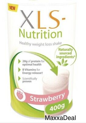 XLS Nutrition Strawberry flavour shake - 400g