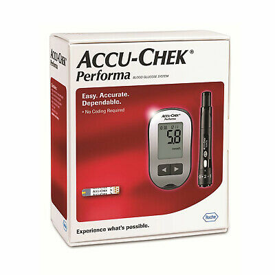 Accu-Chek Performa Blood Glucose Monitor Accurate Diabetic Sugar Monitoring