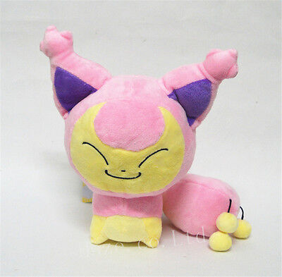 Pokemon Character Skitty Eneco Stuffed Animal Plush Toy Doll 7'' Gift Collection