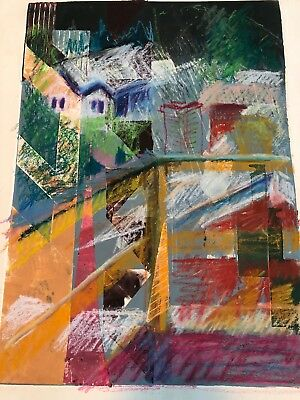 Mcgee Abstract Art Vintage 80s