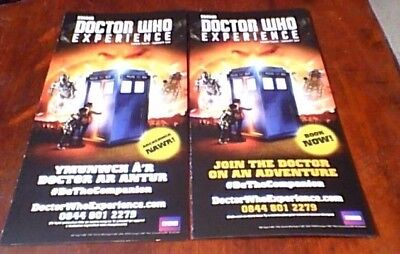 Doctor Who Experience Exhibition Cardiff Oop Uk Promo Only Advertising Brochure