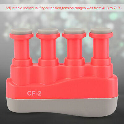 Portable Finger Exerciser Guitar Piano Hand Strengthener Grip Trainer Adjustable