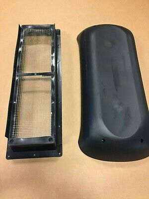 New Black Dometic Refrigerator Roof Vent Cover Camper Motorhome Rv New Style