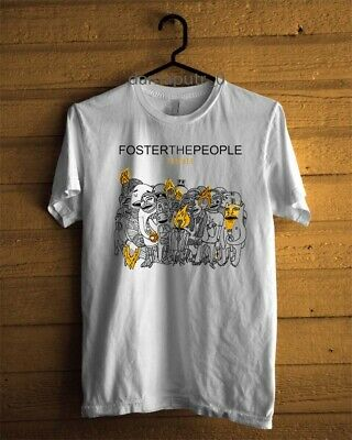 Foster The People Sacred Heart Club Album Cover Mens Black T Shirt