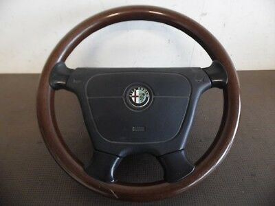 Volant Bois + Airbag Alfa Romeo 164 Wood Steering Wheel