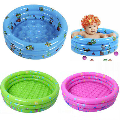 80cm Safety Inflatable Baby Toddler Paddling Pool Kid Toy For 12m to 3Y Children