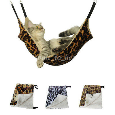 Pet Supply Rat Rabbit Cat Hammock Sleeping Bed Cover Hanging Dog Cage Soft
